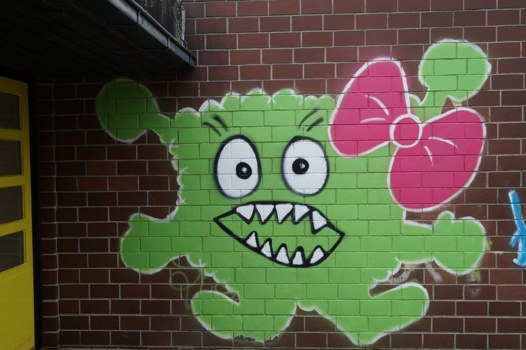 Lotte, das grüne Hortmonster