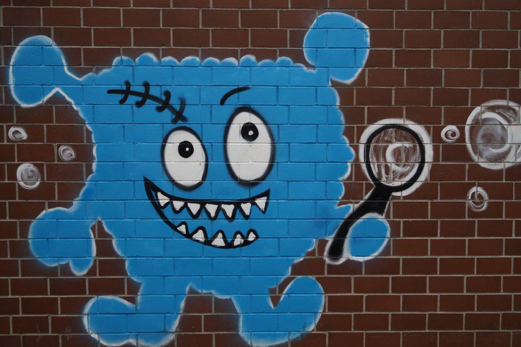 Torben, das blaue Hortmonster